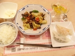 回鍋肉と餃子